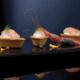 Barchette con crema di caprino e gambero crudo | Cassibba ricette