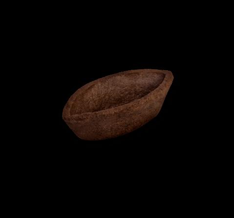 Barchetta frolla burro al cacao | Cassibba