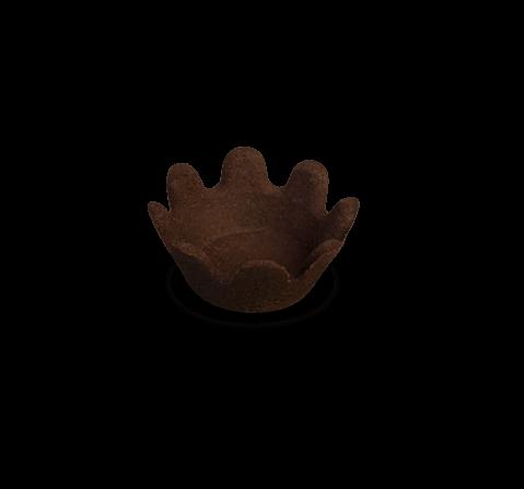 Fiori di frolla burro al cacao | Cassibba