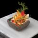 Insalatina di pollo in canestro e verdure in agrodolce | Cassibba Ricette