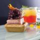 Tonno incastrato con cipolle rosse confit e crema di peperoni | Cassibba ricette