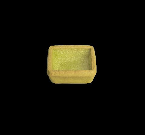 Tartelletta quadrata mignon asparagi | Cassibba | Prodotti dolciari