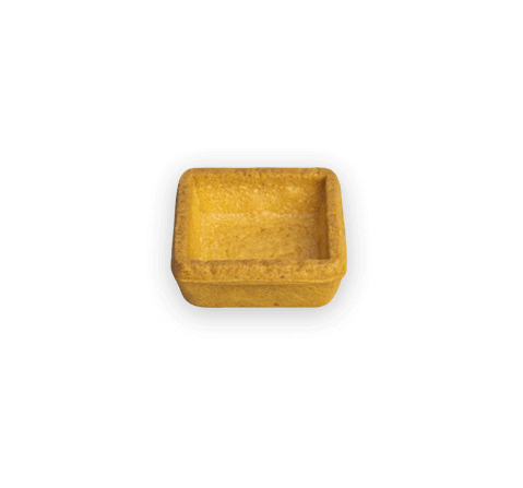 Tartelletta quadrata mignon paprika | Cassibba | Prodotti dolciari