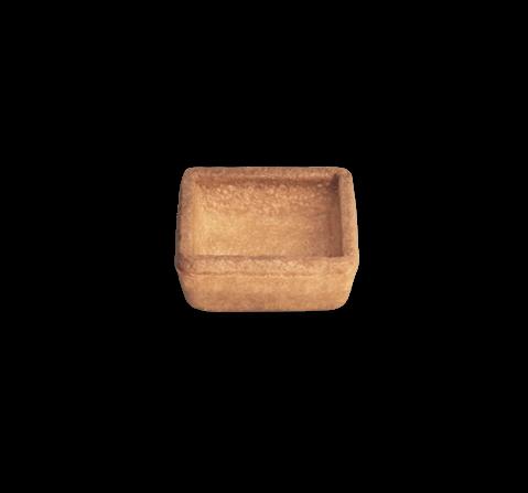 Tartelletta quadrata mignon brisè | Cassibba | Prodotti dolciari