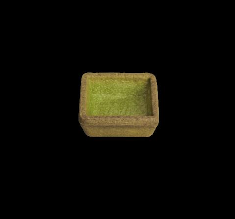 Tartelletta quadrata mignon spinaci | Cassibba | Prodotti dolciari