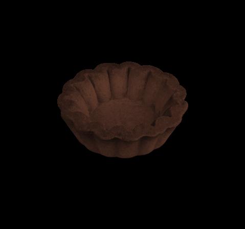Tartelletta artigianale mignon al cacao | Cassibba | Prodotti dolciari