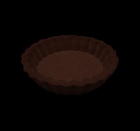 Tartelletta artigianale grande al cacao | Cassibba | Prodotti dolciari