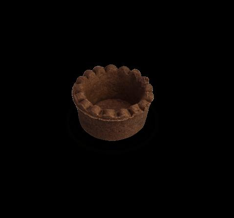 Tartelletta micro frolla al cacao | Cassibba | Prodotti dolciari