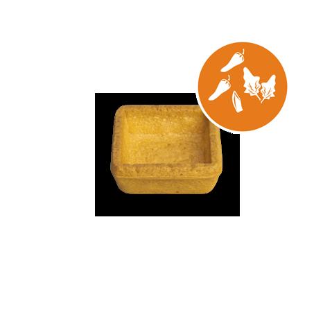 Tartelletta quadrata mignon mixed flavor | Cassibba | Prodotti dolciari