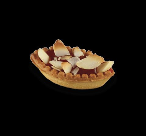 Barchetta ripiena fragola | Cassibba | Prodotti dolciari