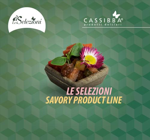 Cassibba | Prodotti Dolciari | Savory Product Line