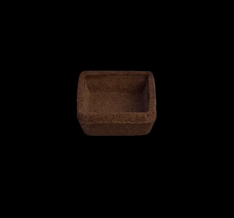 Quadrata mignon cacao al burro | Le Selezioni | Cassibba